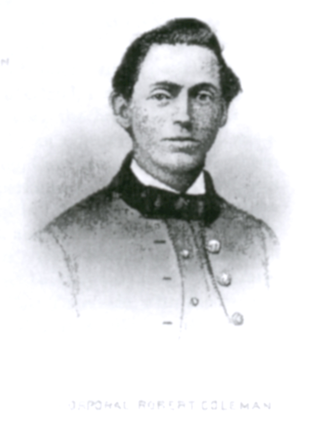 Corporal Robert Coleman, the man who shot General McPherson