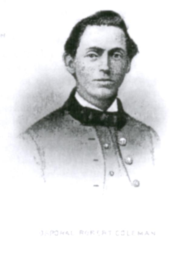Corporal Robert Coleman, the man who shot General McPherson