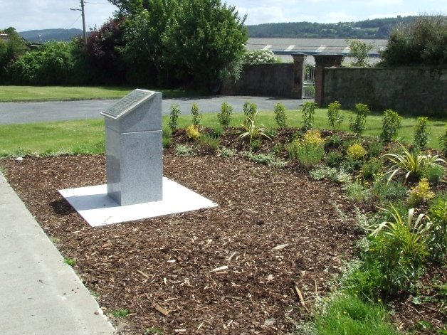 John Lonergan Memorial, Carrick-On-Suir, Co. Tipperary. Lonergan received the Medal of Honor for actions at Gettysburg