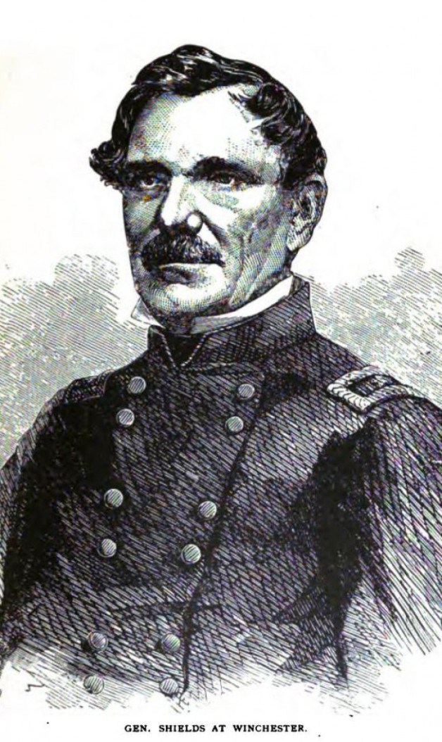 General James Shields during the Civil War