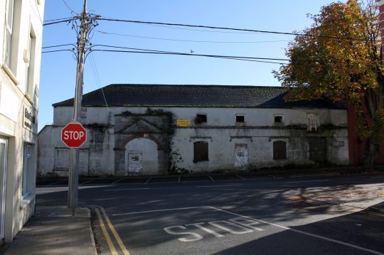 Sir Peter Tait Clothing Factory, Limerick. Confederate uniforms were made here in 1864 and shipped through the Union Blockade