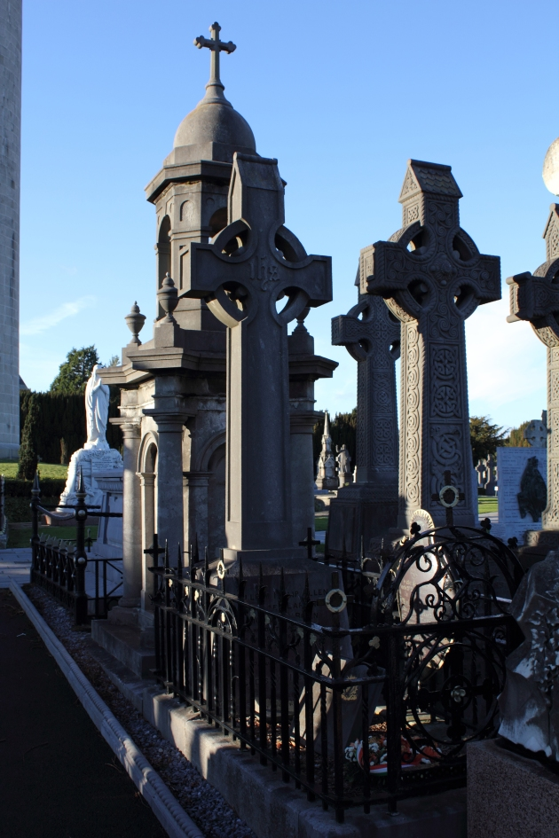 Memorial to the Manchester Martyrs in Glasnevin Cemetery, Dublin (Damian Shiels)