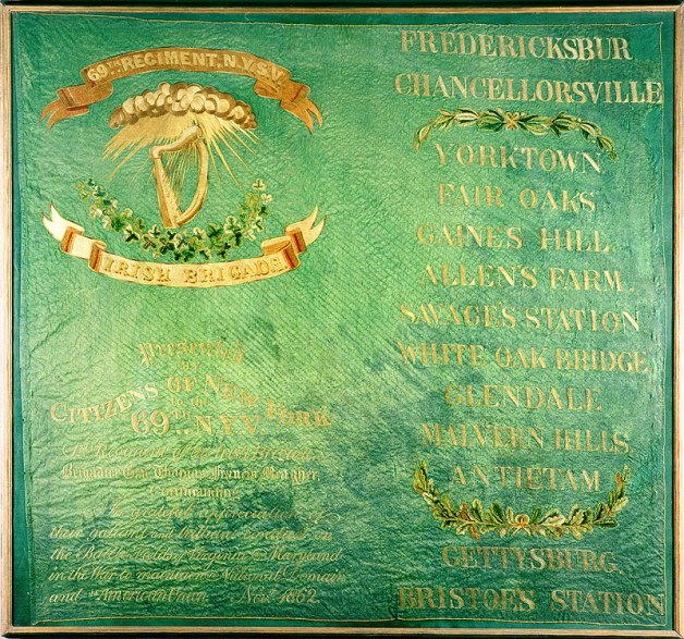 The 1862 'Tiffany' Color of the 69th New York, Presented by President Kennedy to the Irish People in 1963