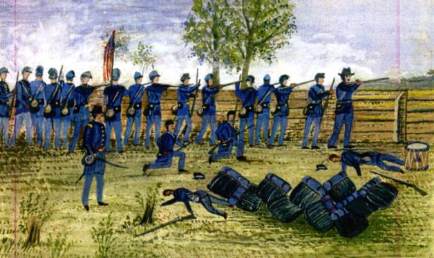 The Battle of Beaver Creek, 26th June 1862