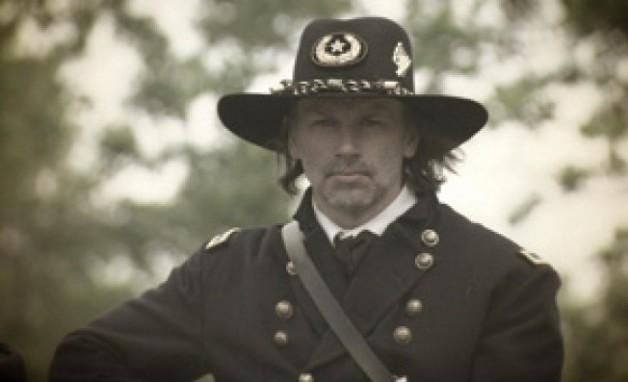 Actor Don Wycherley as Thomas Francis Meagher