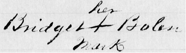 Bridget Bolin Signature