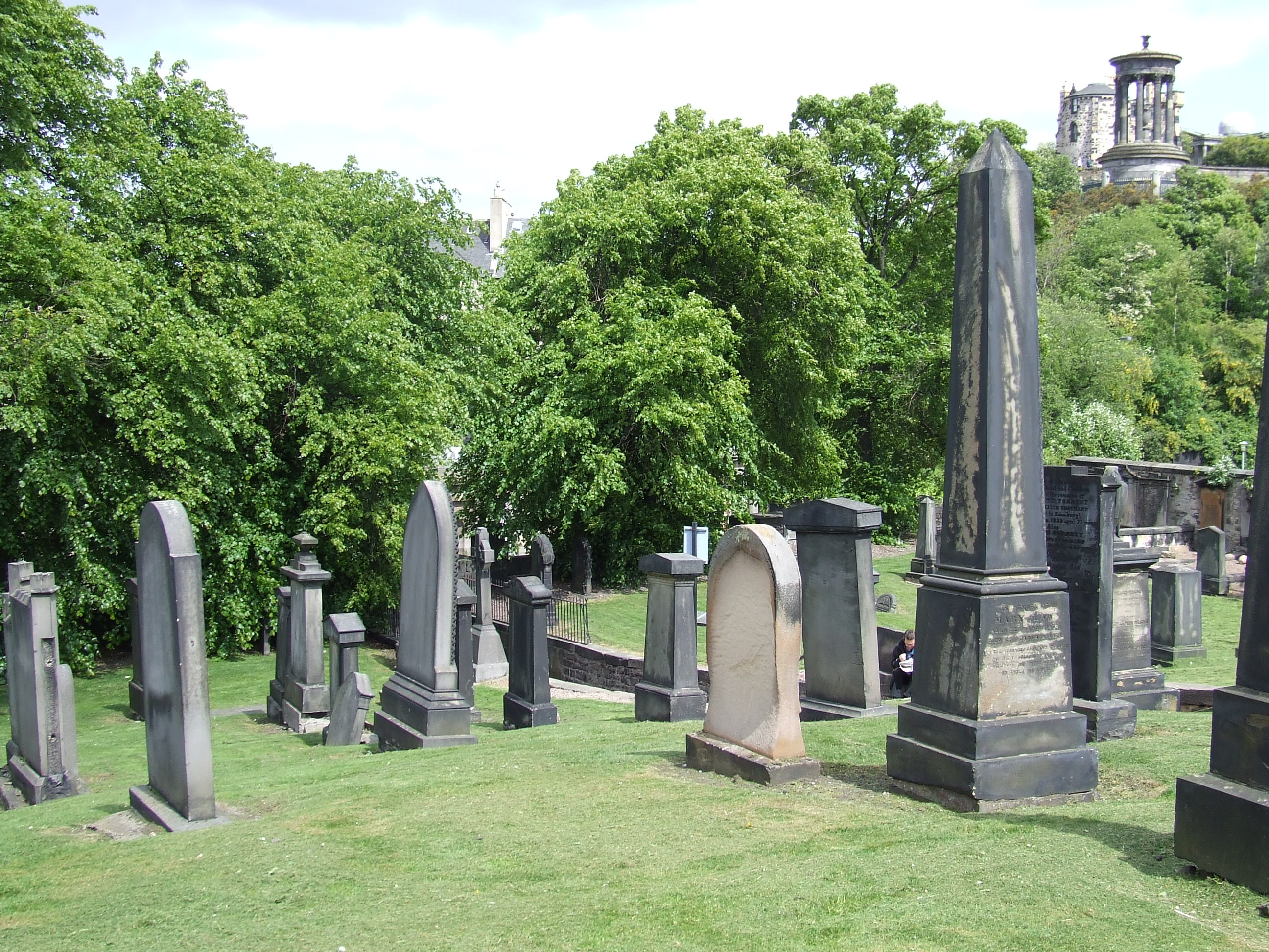 Old Calton Cemetery, Edinburgh
