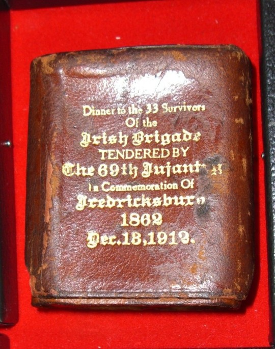 Irish Brigade 50th Anniversary Fredericksburg Cigarette Case