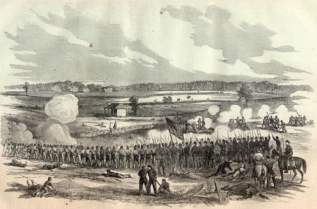 The Battle of Perryville, Kentucky, 1862 (Harper's Weekly)