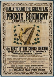 American Civil War Recruitment Poster for The Phoenix Regiment (Civil War Treasures from the New York Historical Society, via Library of Congress