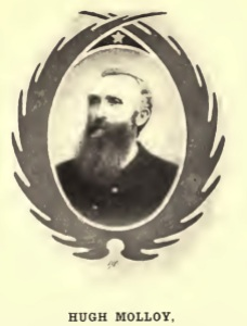 Hugh Molloy, two time Irish-born Medal of Honor recipient (Deeds of Valor)