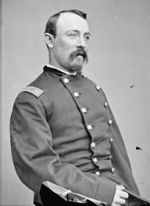 Colonel James Mallon, 42nd New York 'Tammany Regiment'. Killed in Action on 14th October 1863 at Bristoe Station. (National Archives)