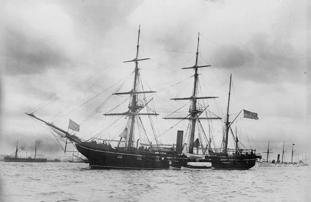 The USS Kearsarge (Library of Congress)