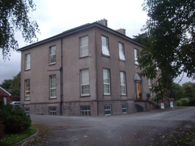 Firville House, Mallow. Robert Atkins wrote his letter to the Bishop of Kerry and resigned from the Confederate Army from here. (National Inventory of Architectural Heritage- www.niah.ie)