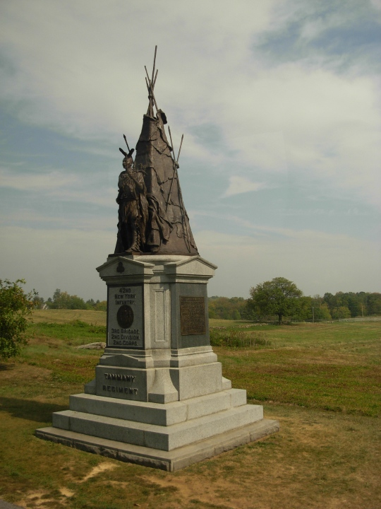 42nd New York Memorial at Gettysburg (Photo:Piotrus)
