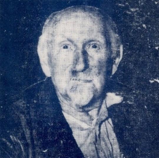 Jeremiah O'Brien- the last Irish born veteran of the American Civil War? (Photo: Shan Murphy, Find A Grave)