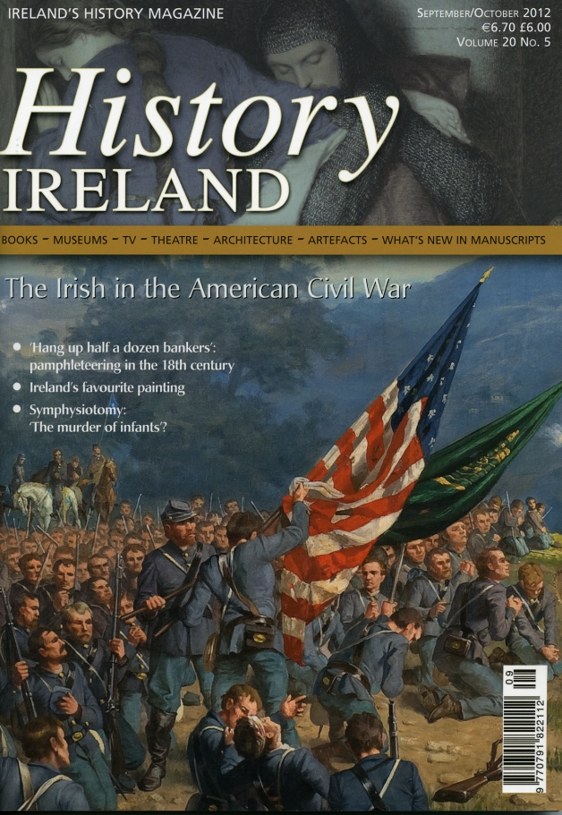 The September/October 2012 issue of History Ireland Magazine, produced by Wordwell