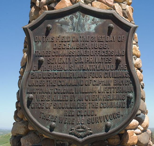 fetterman massacre The fetterman fight , also known as the fetterman massacre or battle of the hundred-in-the-hands , was a battle during red cloud's war on december 21, 1866, between the lakota , cheyenne , and arapaho indians and soldiers of the united states army.