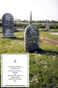 The Cavanagh Family Headstone, Cappincur, Co. Offaly (Michael MacNamara)