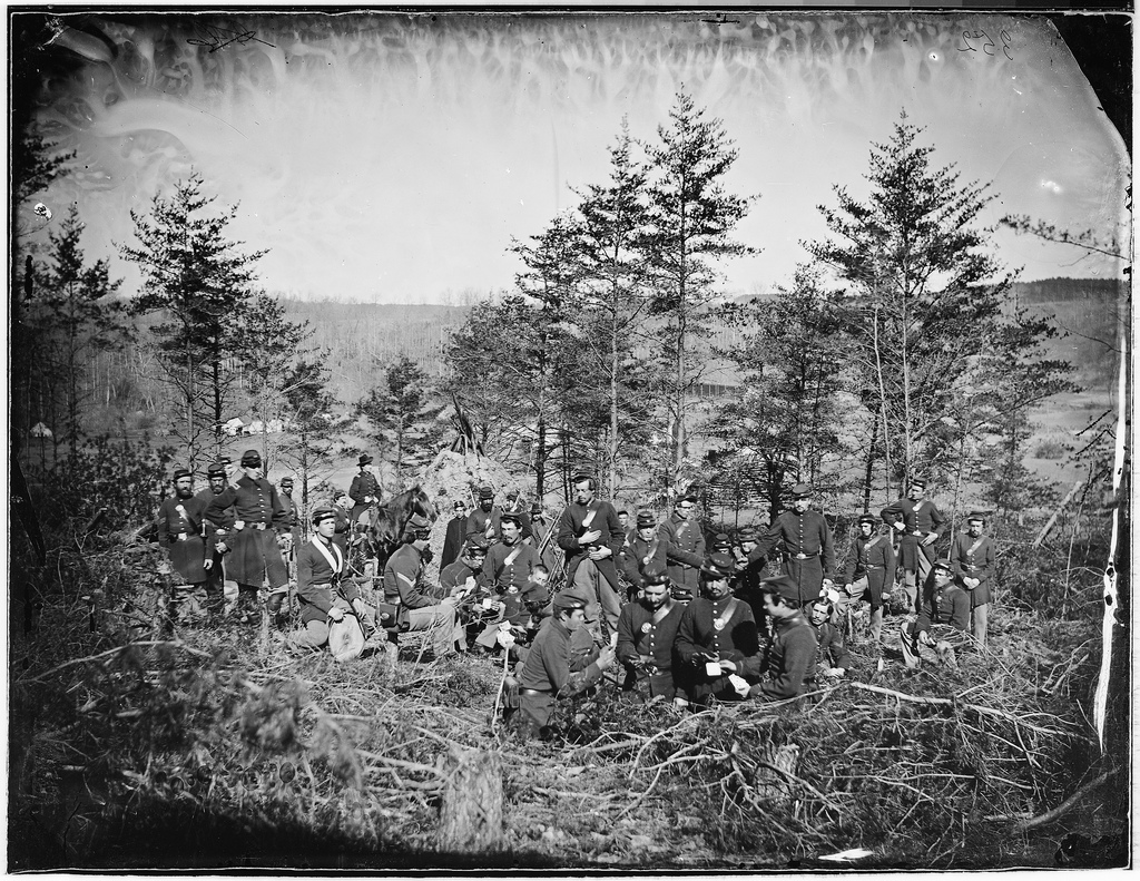 170th New York Infantry, Corcoran's Irish Legion, 1863 (Library of Congress)