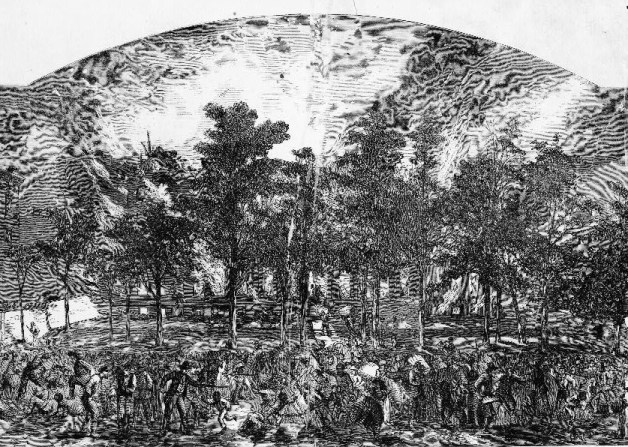 Draft Rioters Burn the Colored Orphans Asylum, New York, July 1863 (Harper's Weekly/Library of Congress)