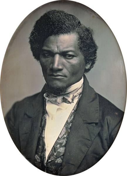 Frederick Douglass as he appeared at the time of his visit to Ireland in the 1840s (Art Institute of Chicago)