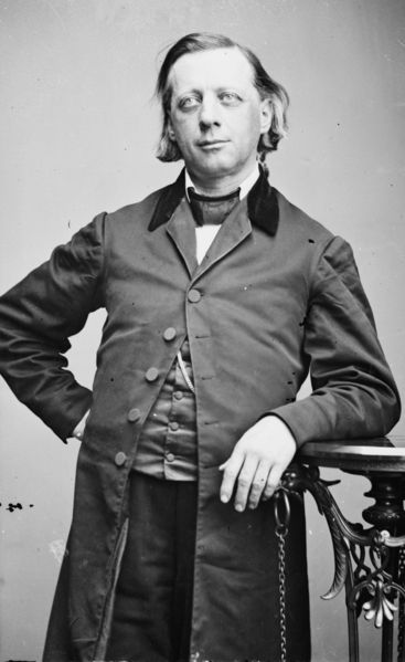 Henry Ward Beecher, Clergyman and Emancipationist (Library of Congress)