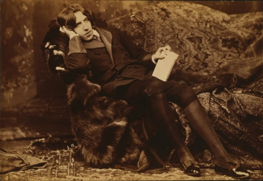 Oscar Wilde in 1882 (Library of Congress)