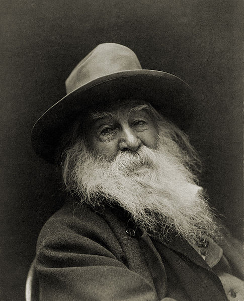 Walt Whitman in 1887 (Library of Congress)