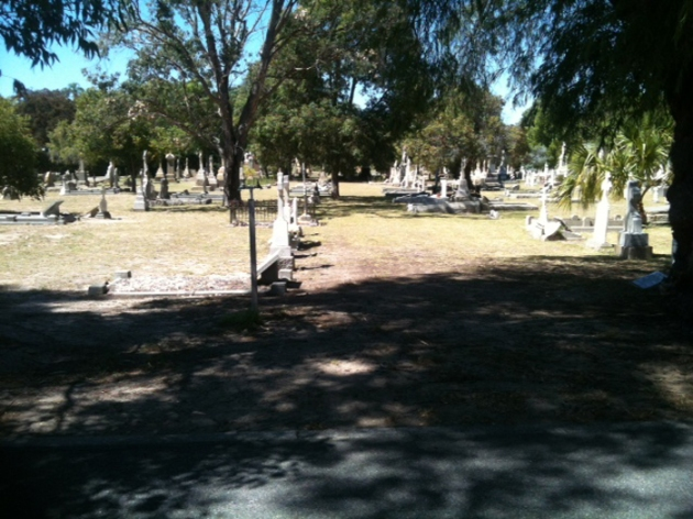 General view of Karrakatta Cemetery, Perth, Western Australia (Angela Gallagher)