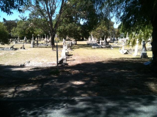 General view of Karrakatta Cemetery, Perth, Western Australia (Angela Gallagher)