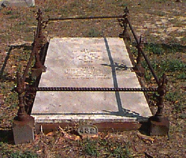 The grave of Edward Stanley, Karrakatta Cemetery, Perth, Western Australia (Karrakatta Cemetery)