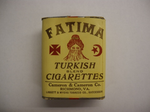 Obverse of the Turkish Cigarette packet (Patricia Doherty)
