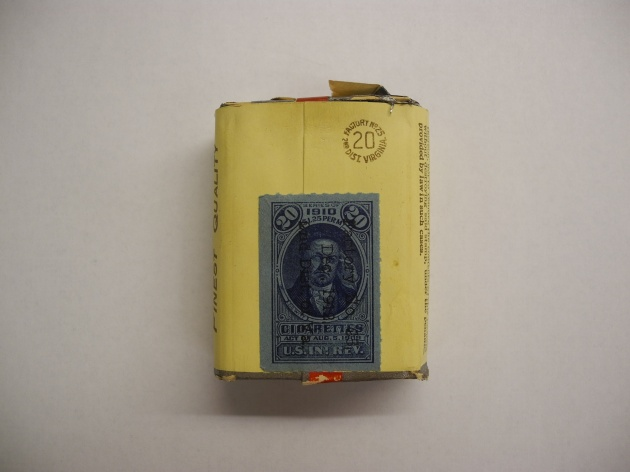 Reverse of the Turkish cigarette packet (Patricia Doherty)