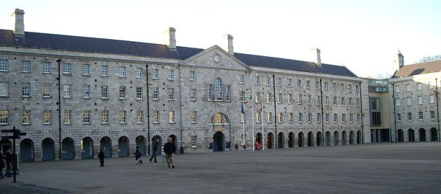 The National Museum of Ireland at Collins Barracks, Dublin