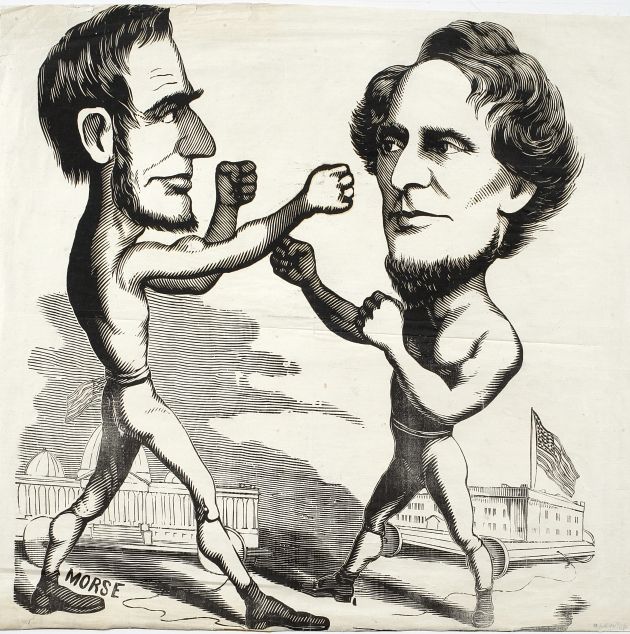 Baby names was perhaps one of the more unlikely areas where Abraham Lincoln and Jefferson Davis fought it out for supremacy (New York Historical Society)