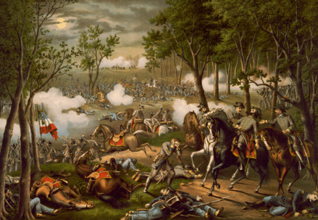 The Battle of Chancellorsville (Kurz and Allison)