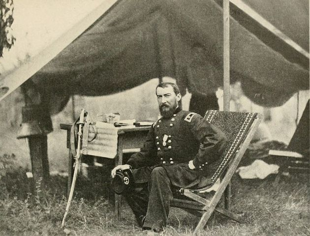 Phil Sheridan as Commander of the Army of the Potomac's Cavalry in 1864 (Photographic History of the Civil War)