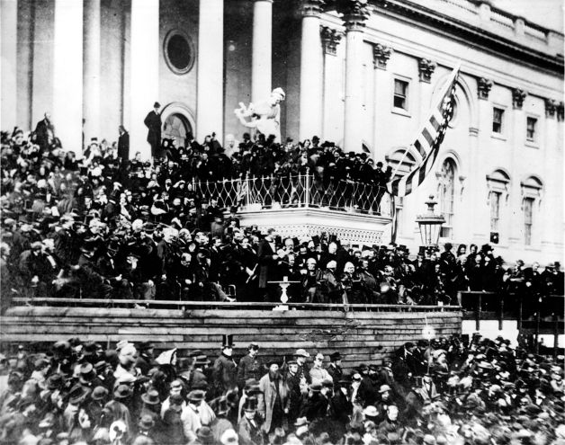 Abraham Lincoln's Second Inaugural Address (Library of Congress)