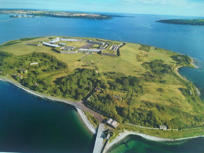 Fort Mitchel, Spike Island (Courtesy Cork County Council)