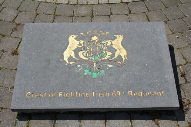 Plaque at the Corcoran Memorial Ballymote