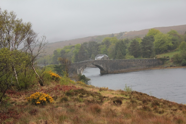 The Lackagh Bridge, near Creeslough, Co. Donegal.