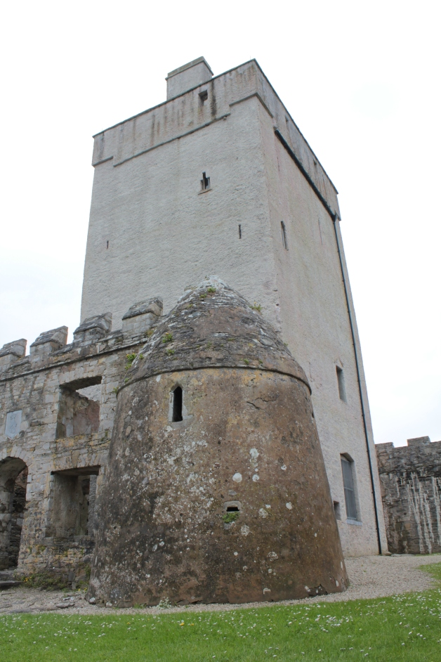 Doe Castle, near Creeslough, Co. Donegal.