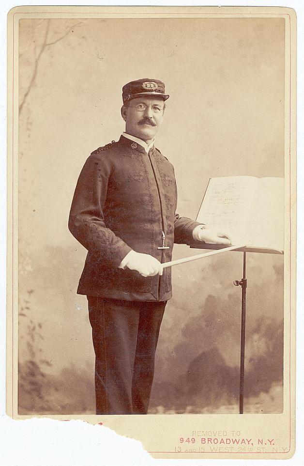 Patrick Sarsfield Gilmore (Library of Congress)