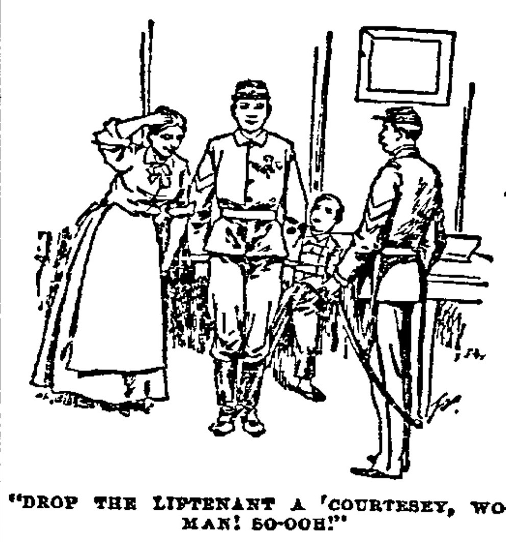 Sergeant James Fegan, his wife and son (Philadelphia Inquirer)