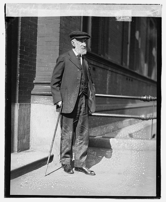 Civil War Pensioner O.D. Kinsman in 1920, who Worked in the Pension Bureau (Library of Congress)