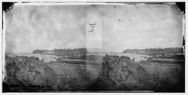 Camp of the 2nd New York Heavy Artillery and 1st Massachusetts Heavy Artillery, Belle Plains, Virginia, 16th May 1864- 9 days after Mathew Dooley was wounded (Library of Congress)