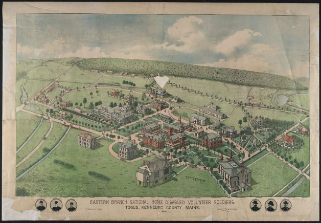 Eastern Branch of the National Home for Disabled Volunteer Soldiers (Library of Congress)