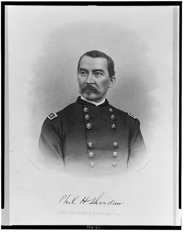 Lieutenant-General Phil Sheridan (Library of Congress)