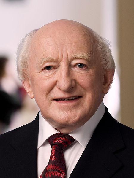 President Michael D. Higgins (Wikipedia)